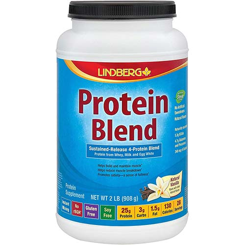 7. Lindberg Protein Blend - from Whey, Milk and Egg White