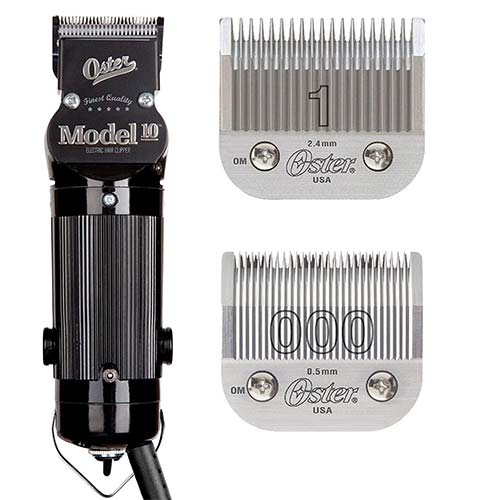 3. Oster Model 10 Classic Professional Barber Salon Pro Hair Grooming Clipper