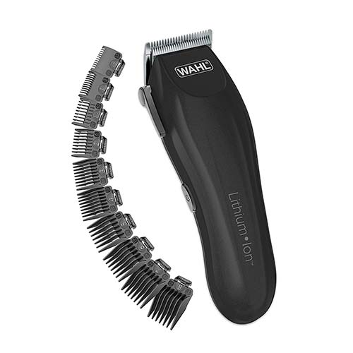 6. Wahl Clipper Lithium-Ion Cordless Haircutting Kit