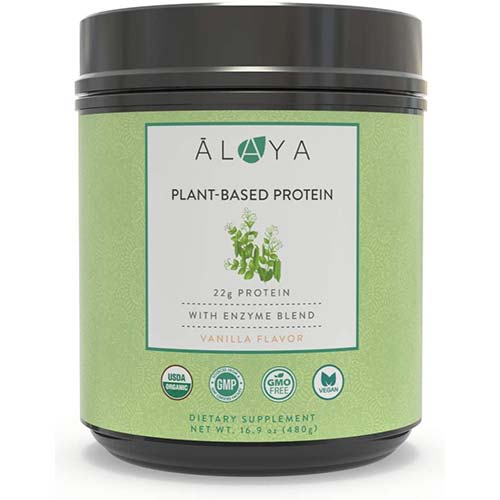 4. Alaya Naturals Organic Plant Based Protein Powder