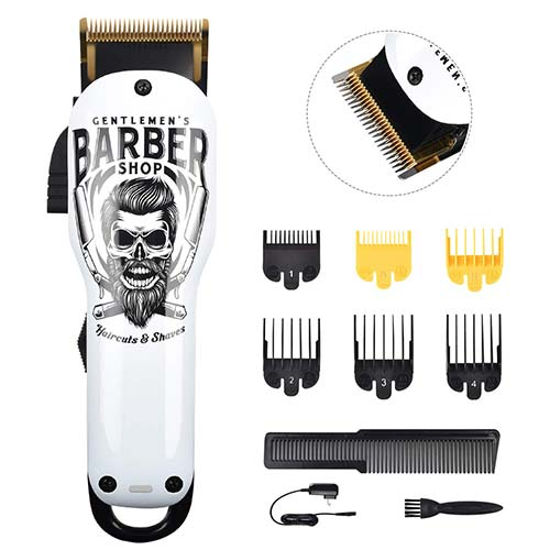 7. Updated Version Professional Hair Clippers