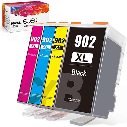 6. ejet Compatible Ink Cartridge Replacement for HP