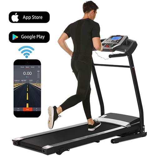 4. Treadmill for Home Folding Electric Treadmill