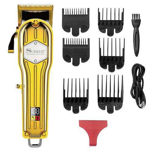2. Kemei Professional Hair Clippers Hair Trimmer