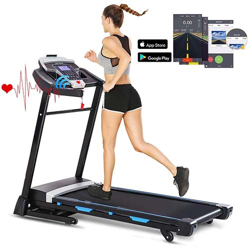1. FUNMILY 3.25HP Automatic Incline Treadmill