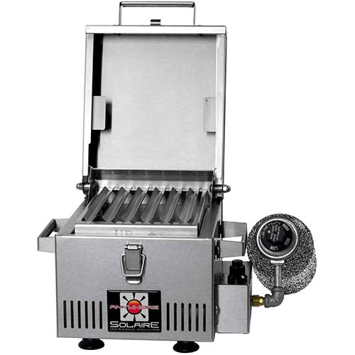 6. Solaire SOL-IR8A Anywhere Mini Personal Infrared Propane Gas Grill