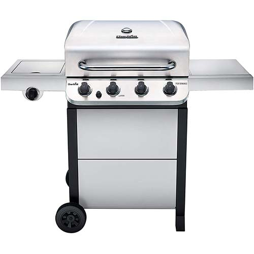 2. Char-Broil 463377319 Performance Stainless Steel 4-Burner Cart Style Gas Grill