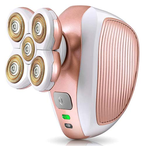 6. [2020 Latest Version]Women Painless Hair Remover, hypoallergenic Electric Shaver Hair Removals Epilator