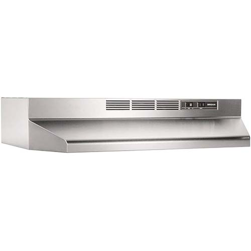 2. Broan-NuTone 413004 Broan 41000, Under Cabinet, 30-Inches