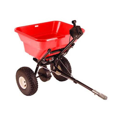 2. Earthway 2050TP Estate 80-Pound Semi-Assembled Broadcast Tow Spreader