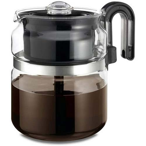 1. Stovetop Percolator Coffee Pot