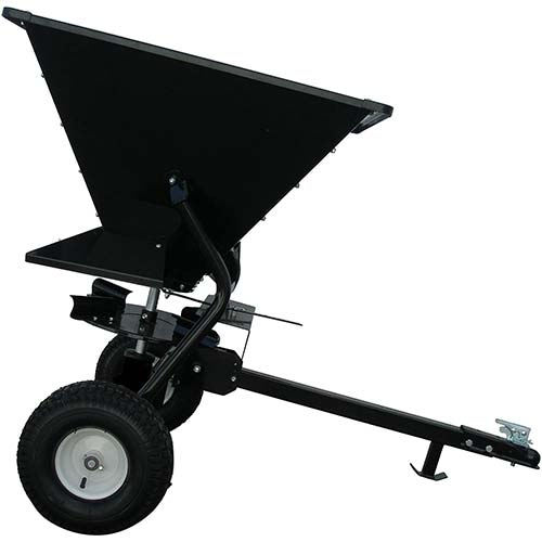 4. Field Tuff Tow-Behind Broadcast Spreader - 350-Lb. Capacity, Model# FTF-350TST