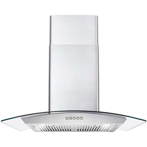 3. Cosmo 668A750 30-in Wall-Mount Range Hood