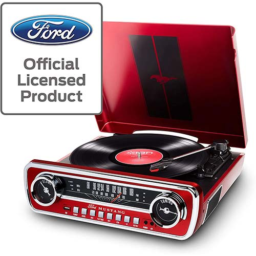 4. ION Audio Ford LP-4-in-1 Classic Car Styled Music Center
