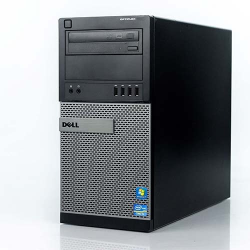 8. Dell Optiplex 9010 Tower Premium Business Desktop Computer (Intel Quad-Core i7-3770 up to 3.9GHz, 2TB HDD + 120GB SSD, (Renewed)