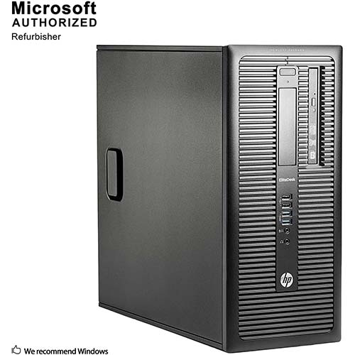 6. Fastest HP EliteDesk 800 G1 Business Tower Computer PC (Intel Ci5-4570 upto 3.9GHz, USB 3.0) Win 10 Pro (Renewed)