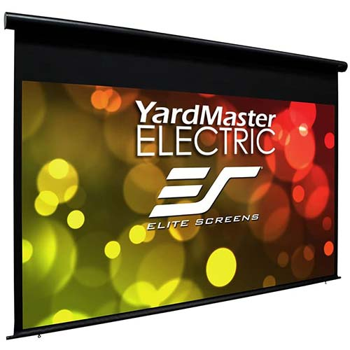 1. Elite Screens Yard Master Electric, 150-inch Outdoor Motorized Projector Screen Rain Water Protection 16:9 Remote Control