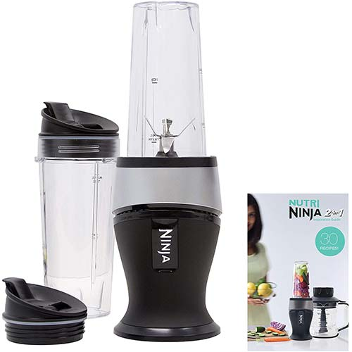 4. Ninja Personal Blender for Shakes, Smoothies, Food Prep, and Frozen Blending