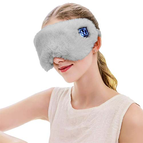 10. Aroma Season USB Silk Heated Eye Mask for Dry Eyes, Warm Compress Therapeutic Chalazion Treatment for Puffy Eye