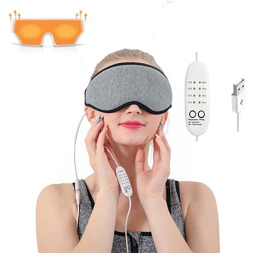 9. Eye Massager Heated Eye Mask for Dry Eyes,Warm Compress for Eyes with Relieve Puffy Eyes, DarkCycles