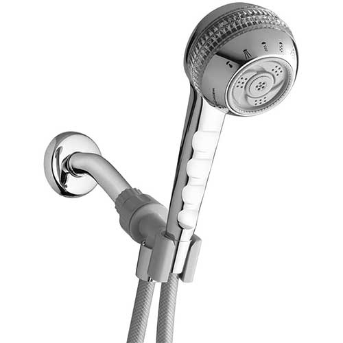 1. Waterpik Shower Head with Handheld Spray 1.8 GPM Original Massage, Chrome, SM-653CGE