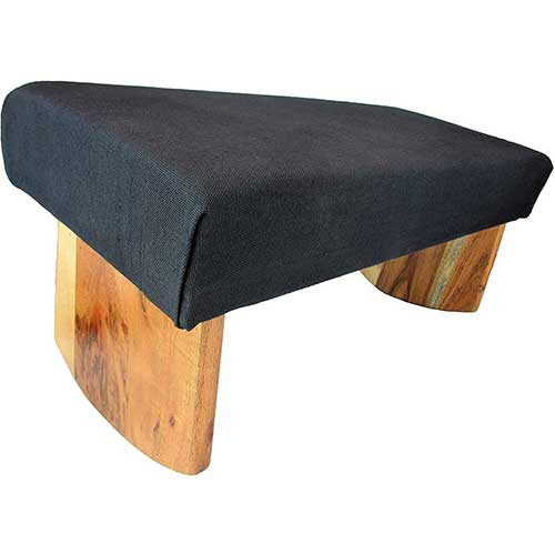3. Meditation Bench- Acacia wood
