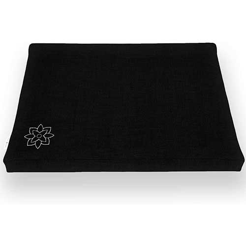 10. Mindful and Modern Zabuton Meditation Mat – Cotton Meditating Cushion for Best Kneeling and Sitting Support