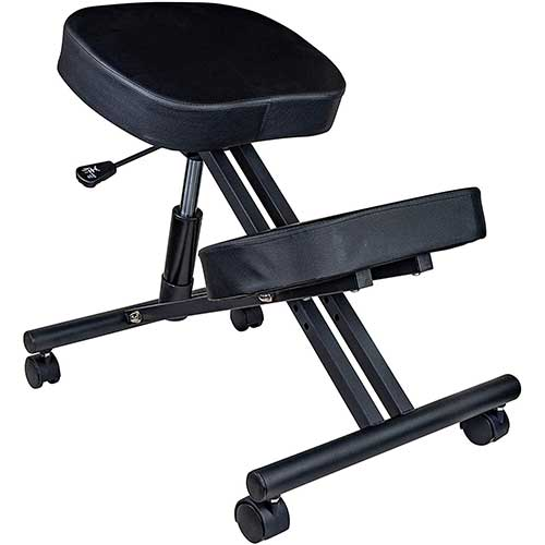 8. Ergonomic Kneeling Chair for Relieving Back & Neck Pain - Rolling Angled Seating for Home, Gaming, Office