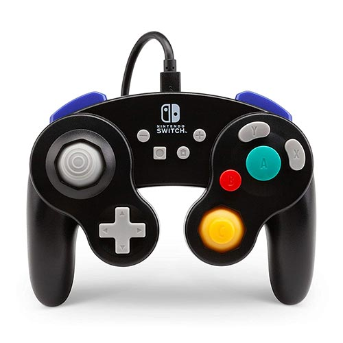 Best Third Party Gamecube Controllers 7. PowerA Wired Controller for Nintendo Switch: GameCube Style - Black