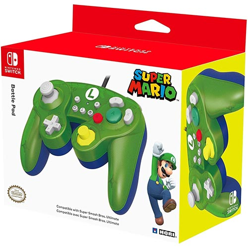 Best Third Party Gamecube Controllers 10. HORI Nintendo Switch Battle Pad (Luigi) GameCube Style Controller Officially Licensed By Nintendo - Nintendo Switch