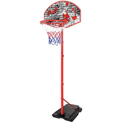 7. Youth Basketball Hoop for Kids Indoor and Outdoor Stand 8.7' Portable and Adjustable Height