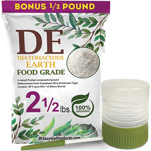 2. EasyGoProducts Diatomaceous Earth - 100% Natural Food Grade - DE Fresh Water
