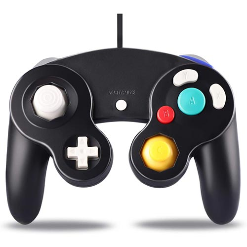 Best Third Party Gamecube Controllers 4. Controller for Gamecube, Classic Wired Controllers for Gamecube and Wii Console, Gamepad Joystick Remote for Nintendo
